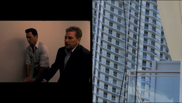 "Burn Notice 4x17 ""Out of the Fire"" - Michael Westen (Jeffrey Donovan) & Larry Sizemore (Tim Matheson)"