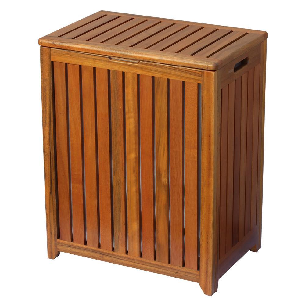 Oceanstar TRH1330 Spa Style Solid Wooden Laundry Hamper