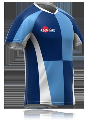 Blue Quarters Rugby Shirt Design Your Own Sportswear At Www Samurai Sports Com