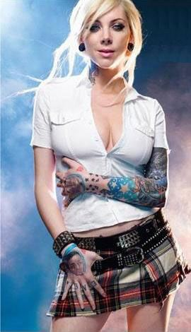 Maria brink this woman is just hot super gorgeous - Maria brink pics ...