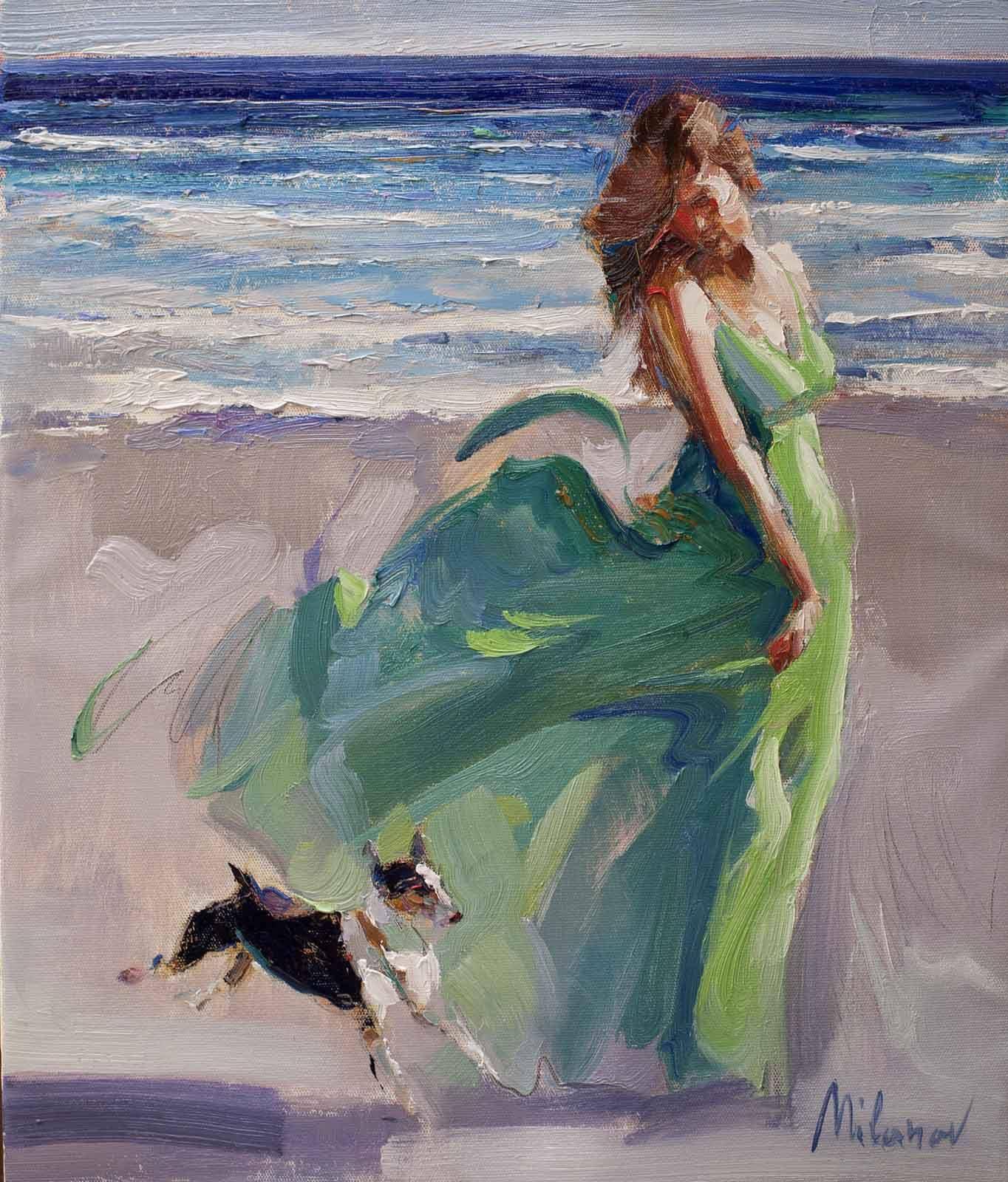 Картинки по запросу dipinti mare e spiaggia