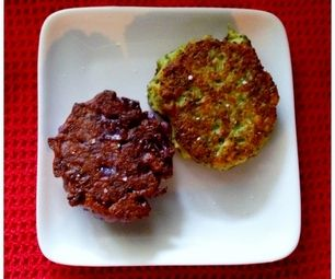 Broccoli and Cauliflower Fritters