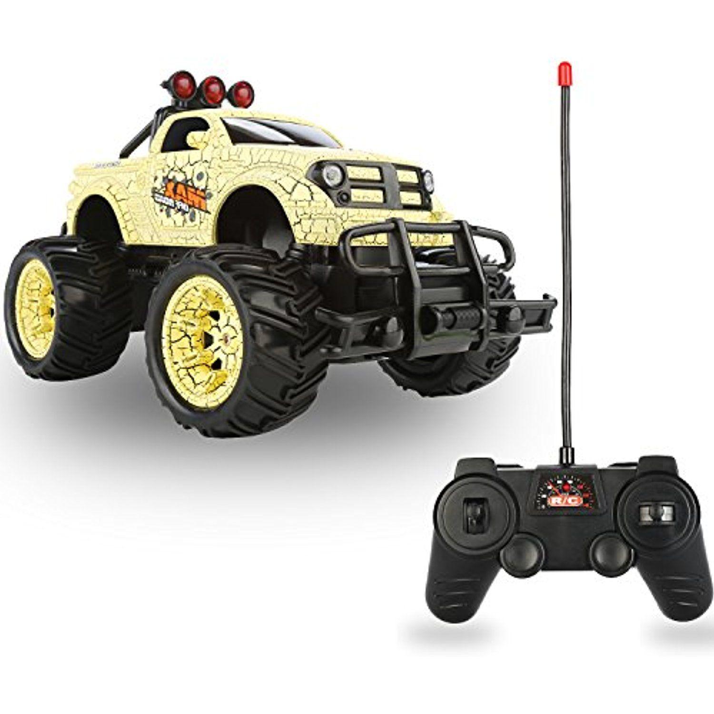 QuadPro NX5 Remote Control Car, 2WD 120 Scale Monster