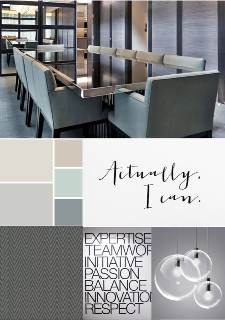 Meeting Room Interior Concept Mood Board Colombo Sri Lanka
