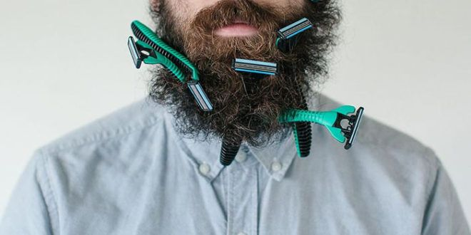 للرجال دليلك لـ حلاقة الذقن بسرعة وأمان ملبس خان Crazy Beard Beard Art Beard Model