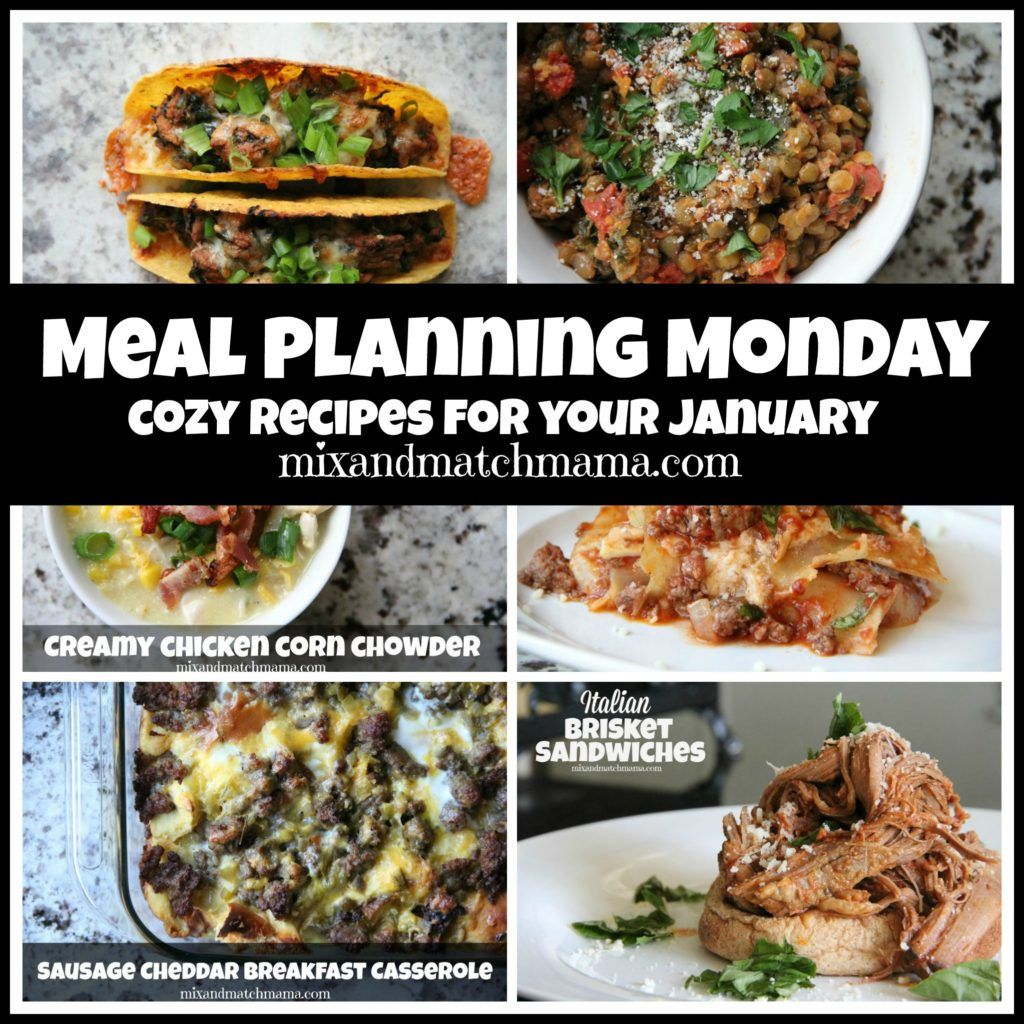 Meal Planning Monday #169