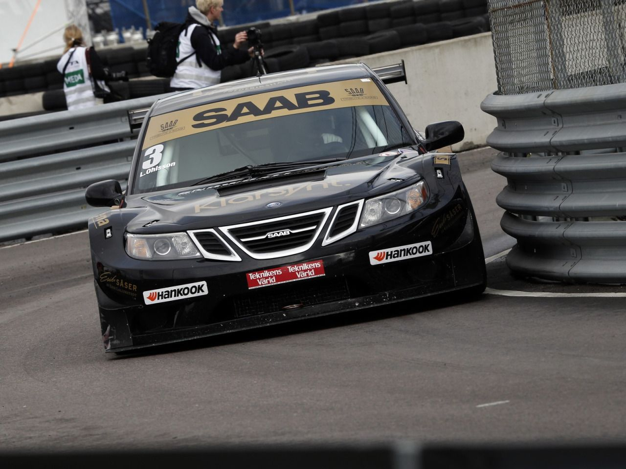Erikwestrallying. SAAB 9 3 Race Car