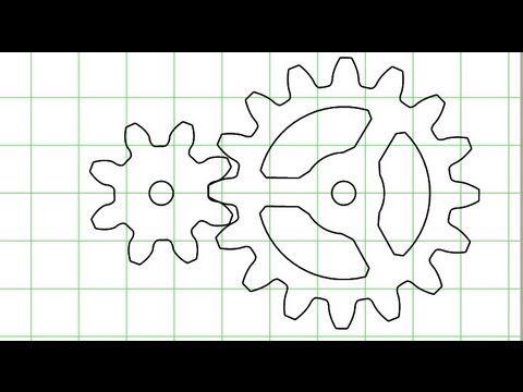 Gear template generator demonstration video | MOVEMENT MECHANISMS ...