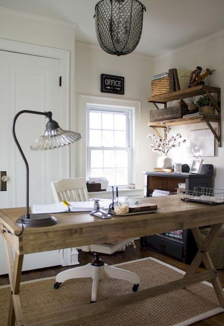 40 Easy Diy Farmhouse Desk Decor Ideas On A Budget Rustic Home