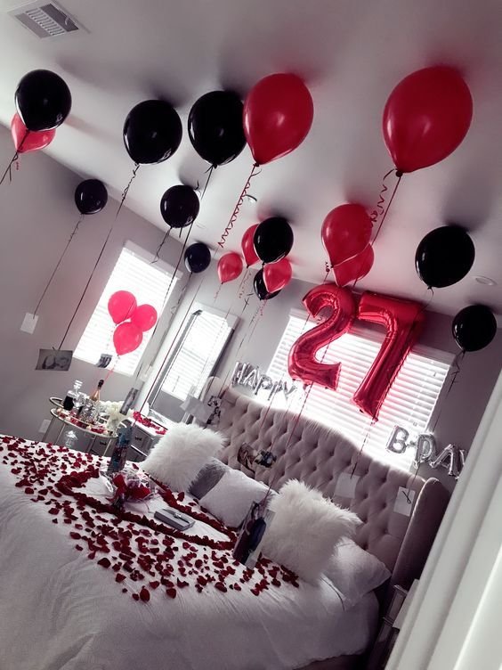 Birthday Surprise For Husband Birthday Surprise For Wife