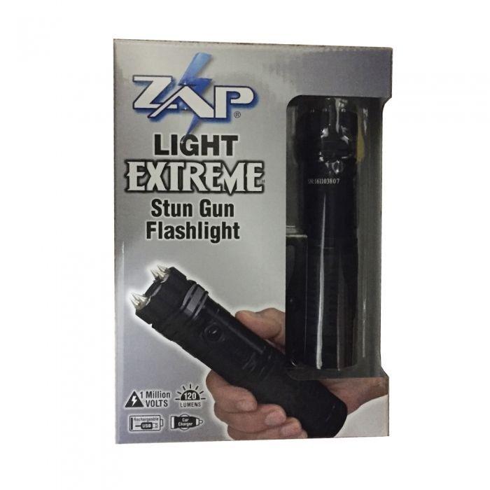 ZAP Light Extreme Best Stun Gun Flashlight Tactical Police