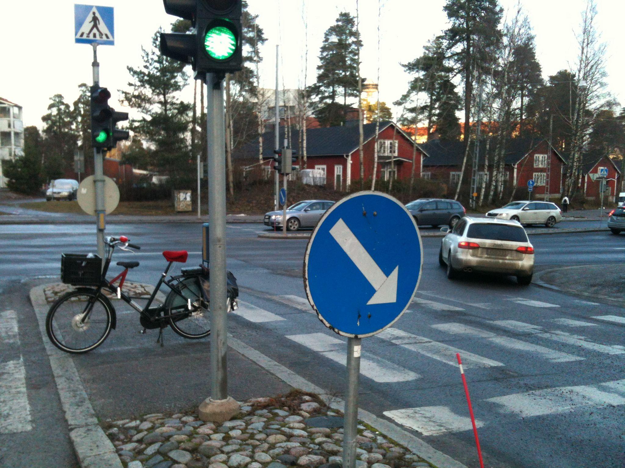 Fr8 at the traffic lights