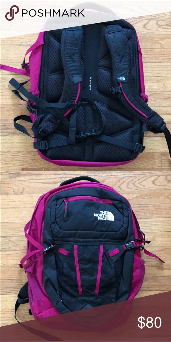 """a924e4cec The Northface recon nylon backpack NWOT with no flaws 15"""" laptop ..."""