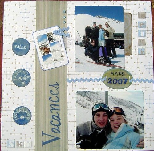 Skiing Scrapbook Page Ideas Google Search Football Pinterest