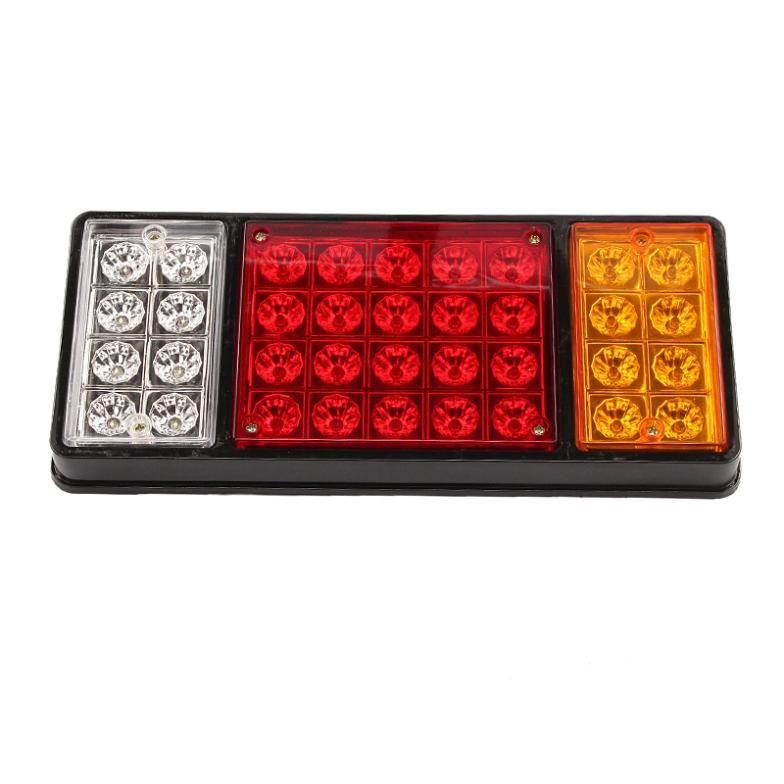 1 Pair 12v 36 Led Rear Truck Auto Car Van Lamp Tail Light Trailer Stop Indicator Lamp Light Trailer Tail Light Car