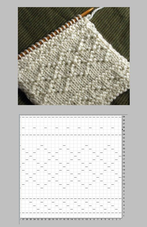 模様 編み 棒針