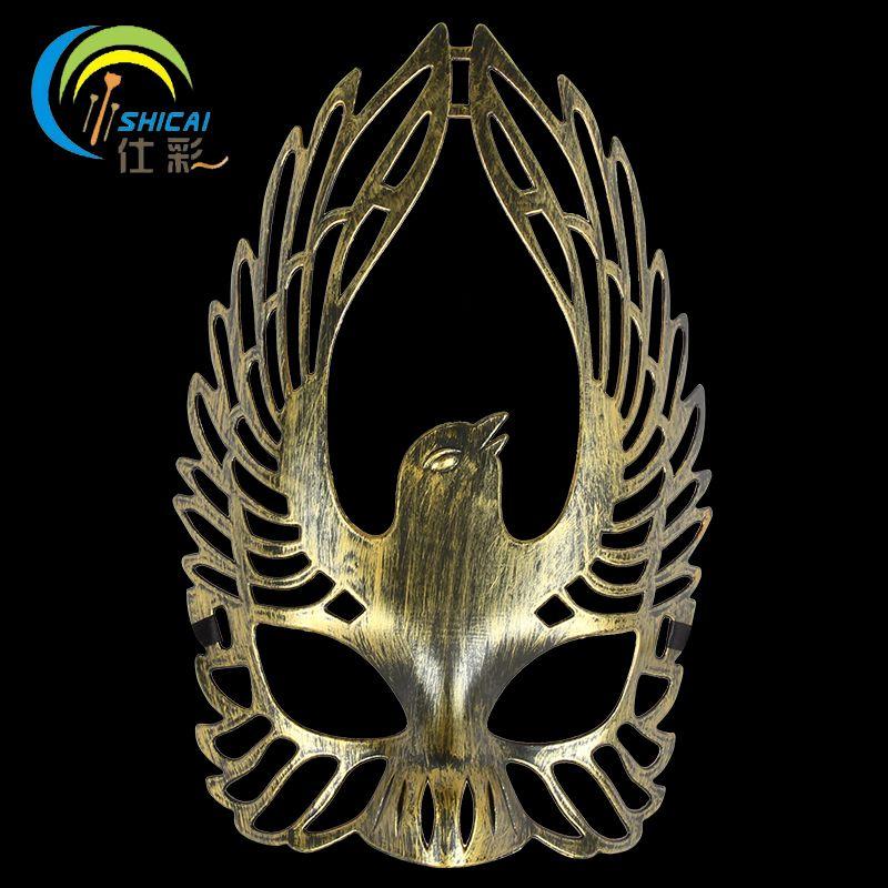 Retro Roman Mask Elegant Dance Party Masquerade Halloween Christmas - halloween cheap decorations