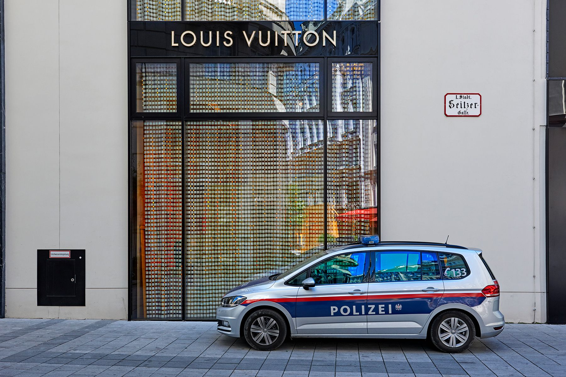 Louis Vuitton and the police