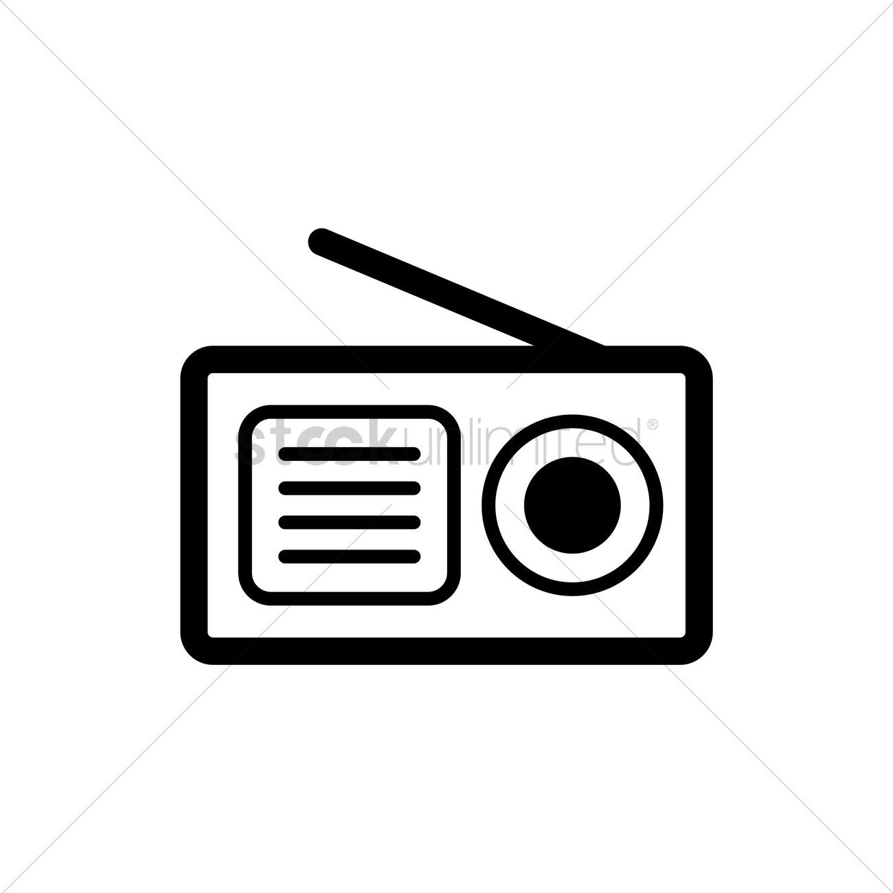 You Don T Have To Be A Designer To Get Awesome Visuals Radio Icon Vintage Radio Radio