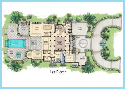 planos de casas modernas de lujo