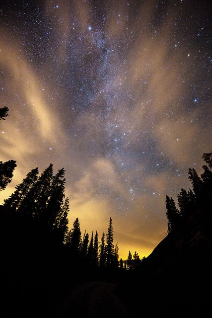 Sleeping Under the Stars | Flickr - Photo Sharing! I would like to sleep under the stars one day just to see how pretty it is.