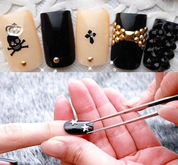 Nail Art Stickers How to apply, nail art stickers online, nail art ...