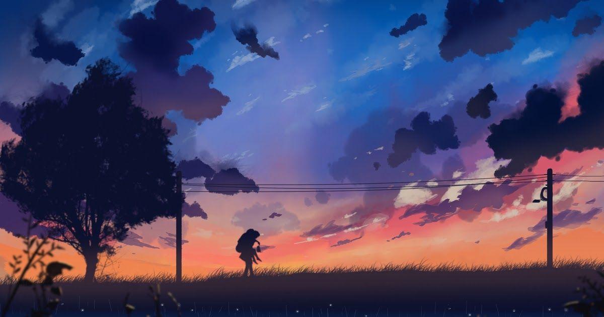Anime Wallpaper Aesthetic 4k Anime Landscape Wallpapers 71 Pictures Dark Anime Background 4k Warnerwave Xyz Scenery 4k Wal Bonito Wallpaper Bunga Beautiful