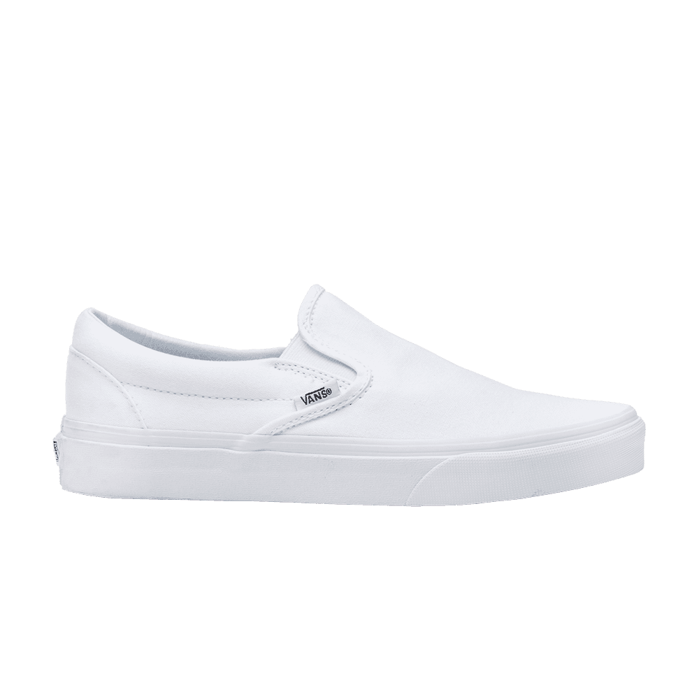 60845e0c7a Shop Vans Classic Slip-On True White - Vans on GOAT. We guarantee  authenticity on every sneaker purchase or your money back.