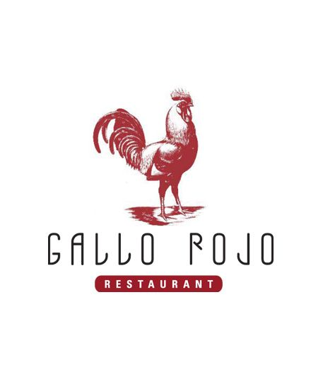 Chicken Kitchen Logo gallo rojo restaurant logo www.michaelmorandesign | luck