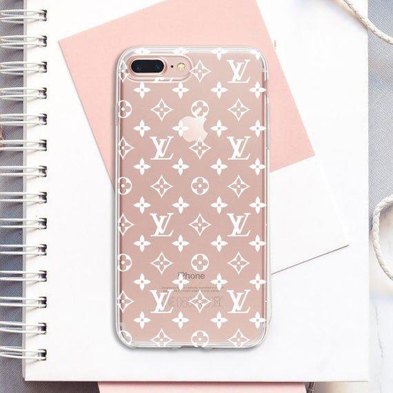 Louis Vuitton White Case Lv Iphone Xs Max Case Iphone Xr Case Inspired Louis Vuitton Case Iphone 8 P Iphone Phone Cases Luxury Iphone Cases Print Phone Case