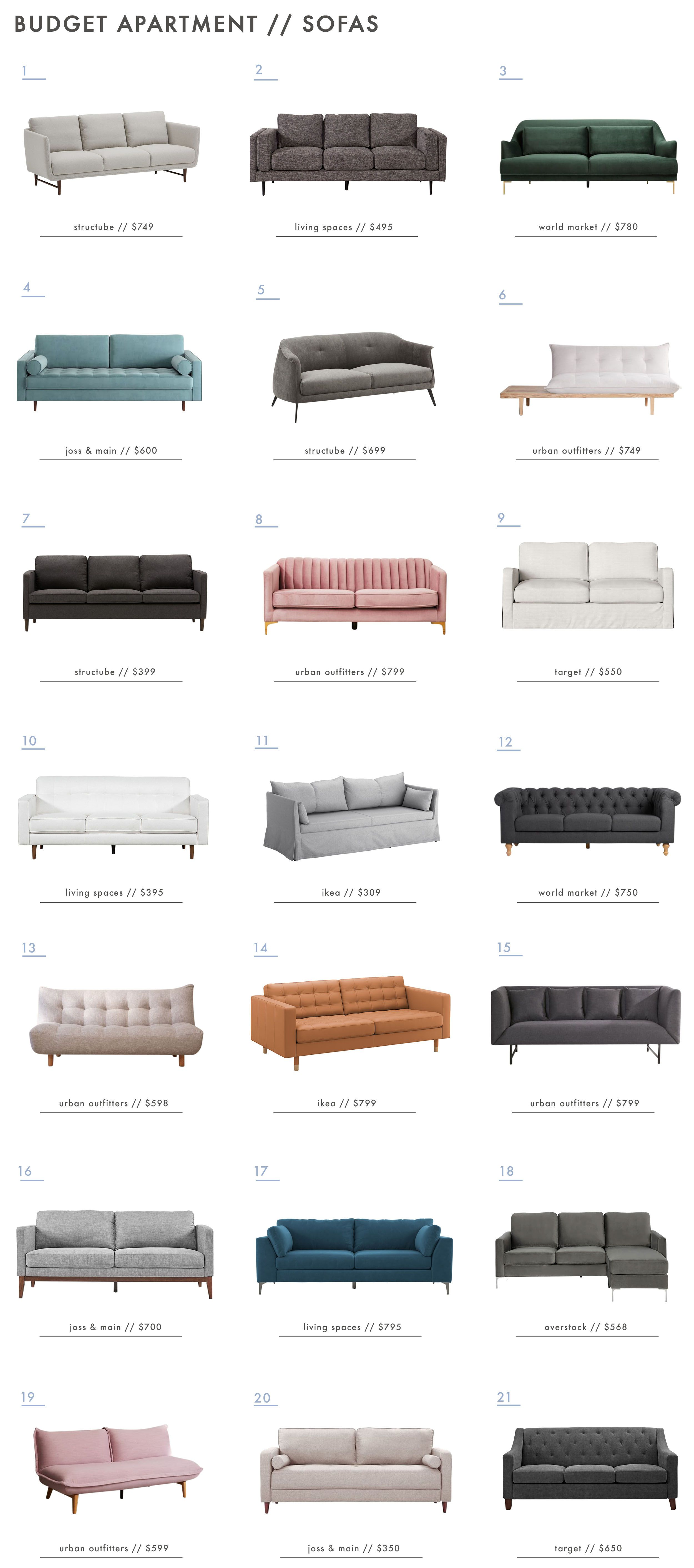 The Ultimate Budget Friendly Living Room Furniture Roundup Affordable Living Room Furniture Budget Friendly Living Room Cheap Living Room Furniture