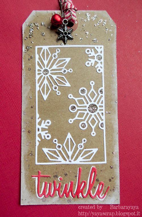 The simplicity of this tag is what makes it pop! Just stunning!