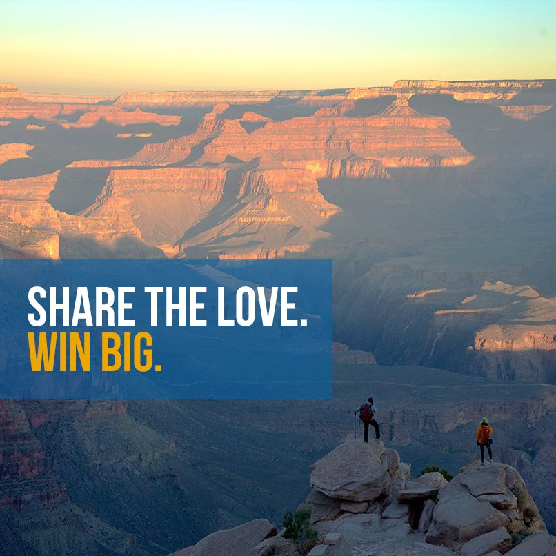 Celebrate ‪#‎NationalParkWeek‬ with us! Win a trip to some of our favorite parks, plus gear from @National Park Foundation (NPF), @The Clymb, @Teva & @Klean Kanteen. Enter here: http://www.smarturl.it/NationalParks