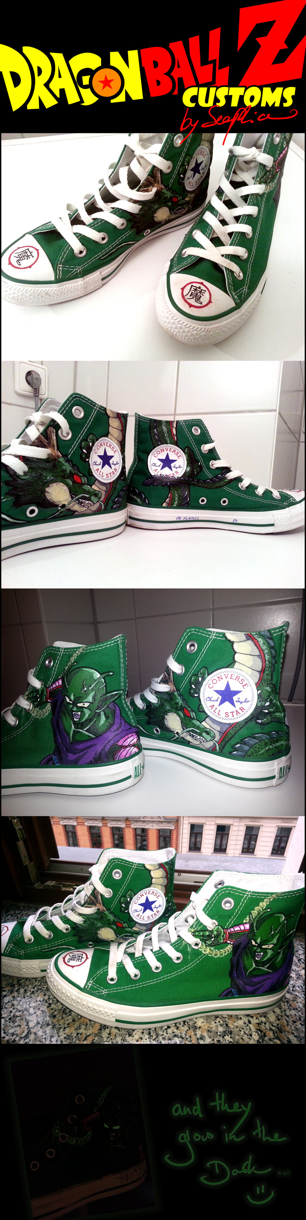 DragonBall Z custom made shoes by Seephice on DeviantArt