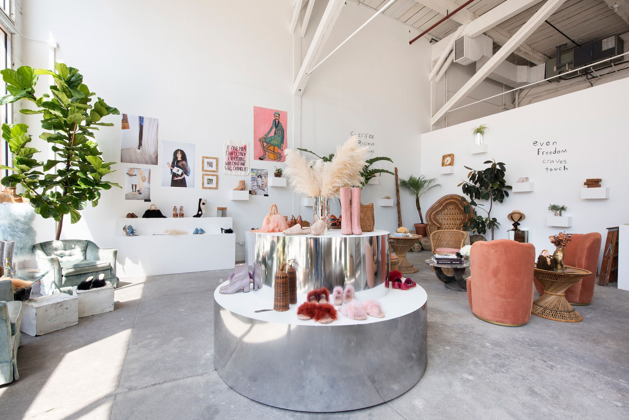 A Shoe Store Where Everything, Even The Plants, Tells A