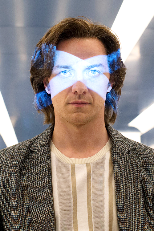 James McAvoy as Professor X in 'X-Men: Apocalypse', 2016