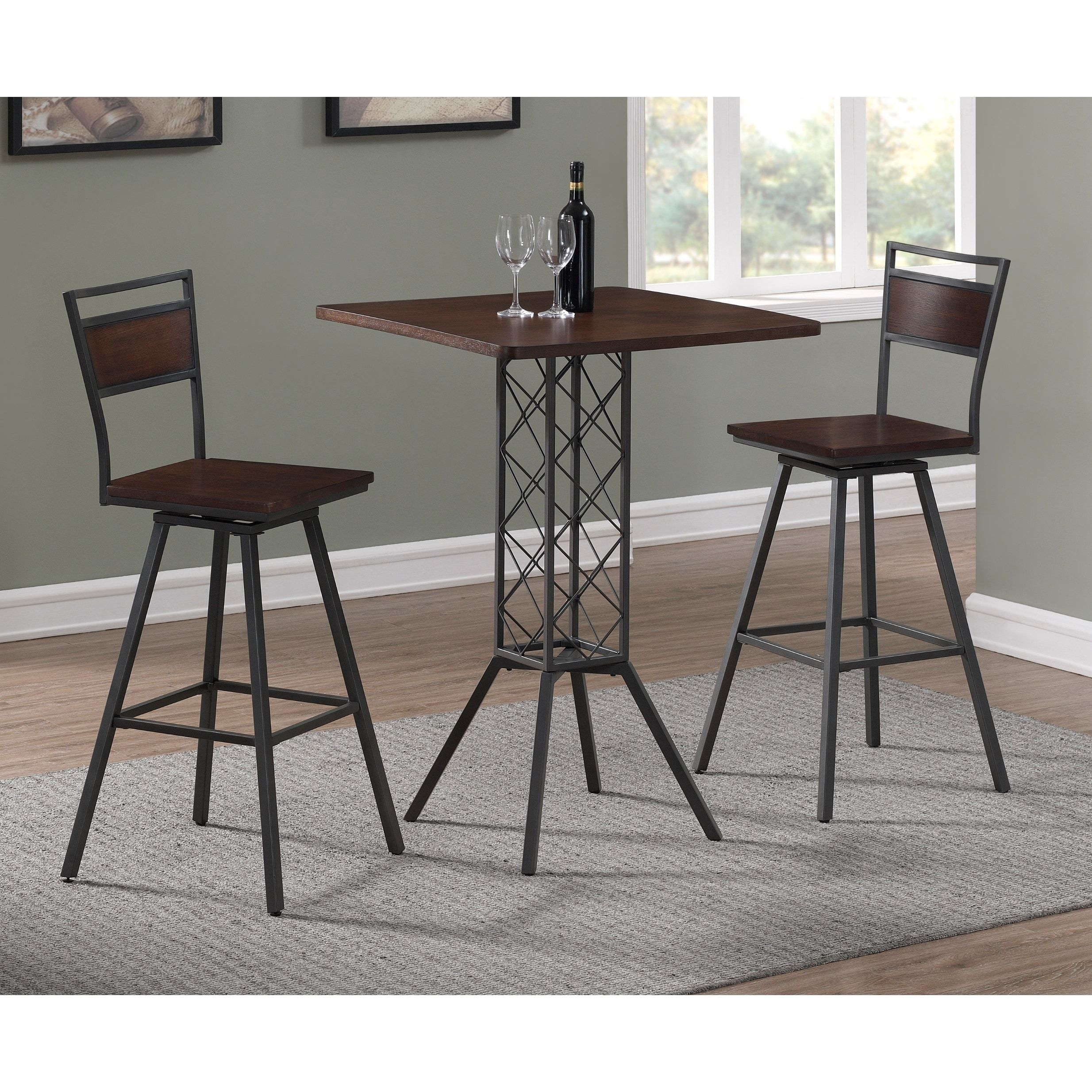 Truro 36Inch Counter Height Dining Setgreyson Living 5Piece Magnificent 36 Dining Room Table Design Decoration