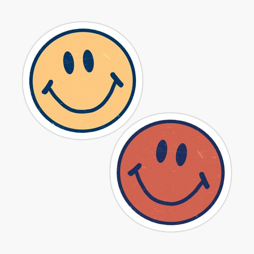 Smiley Faces Glossy Sticker By Krgood En 2020 Pegatinas Bonitas Pegatinas Wallpaper Calcomanias Personalizadas