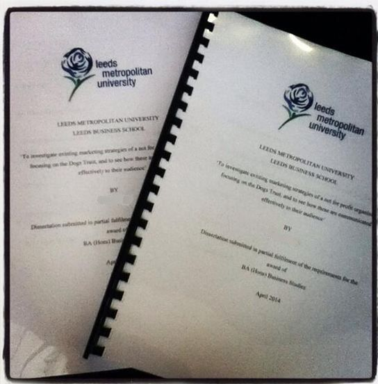 Dissertation leeds university