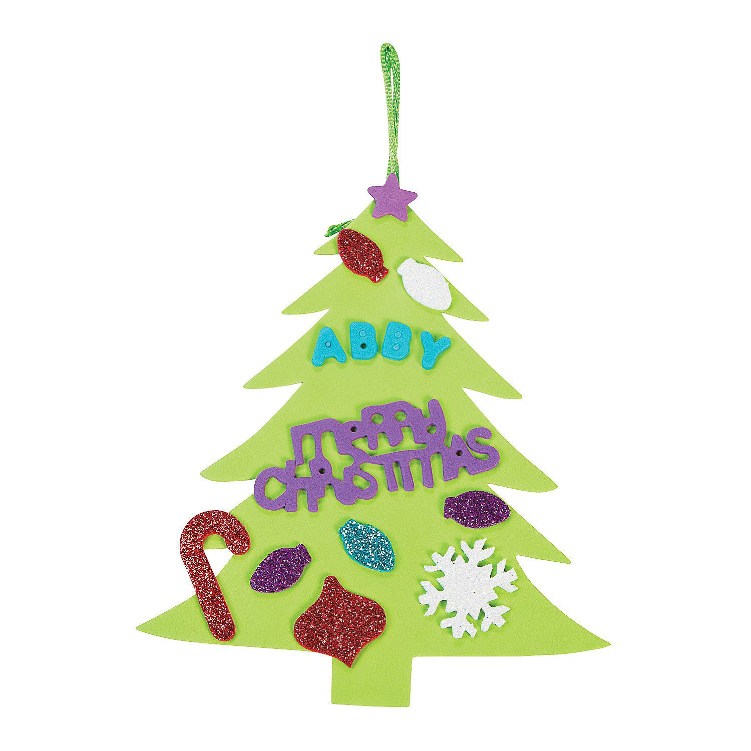 Christmas Tree Ornament Craft Kit Discontinued Christmas Tree Ornament Crafts Ornament Crafts Christmas Tree Ornaments