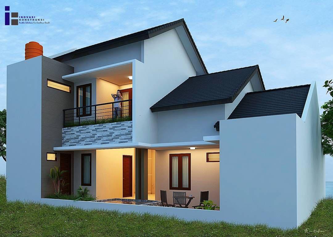 Gambar Desain Rumah Minimalis Modern Tampak Belakang Desain Rumah Minimalis Rumah Minimalis Rumah Tropis