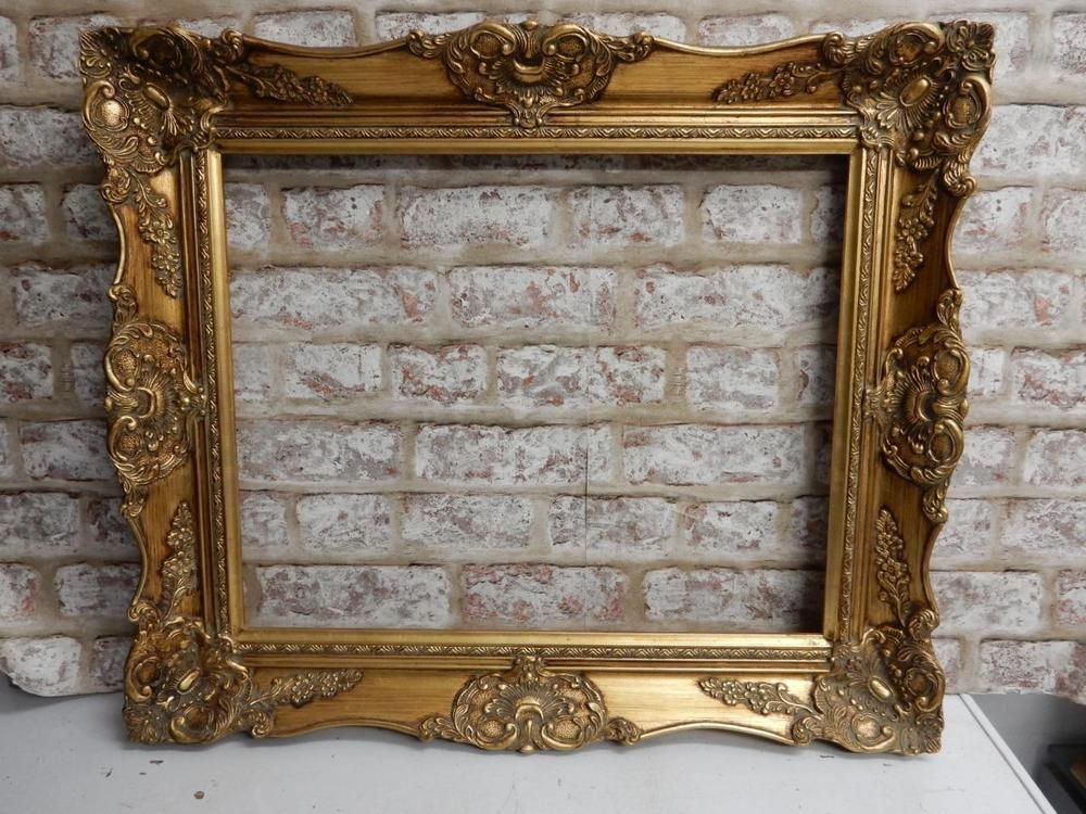 VINTAGE old picture frame GOLD fits a 20 inch X 16 painting | Stuff ...