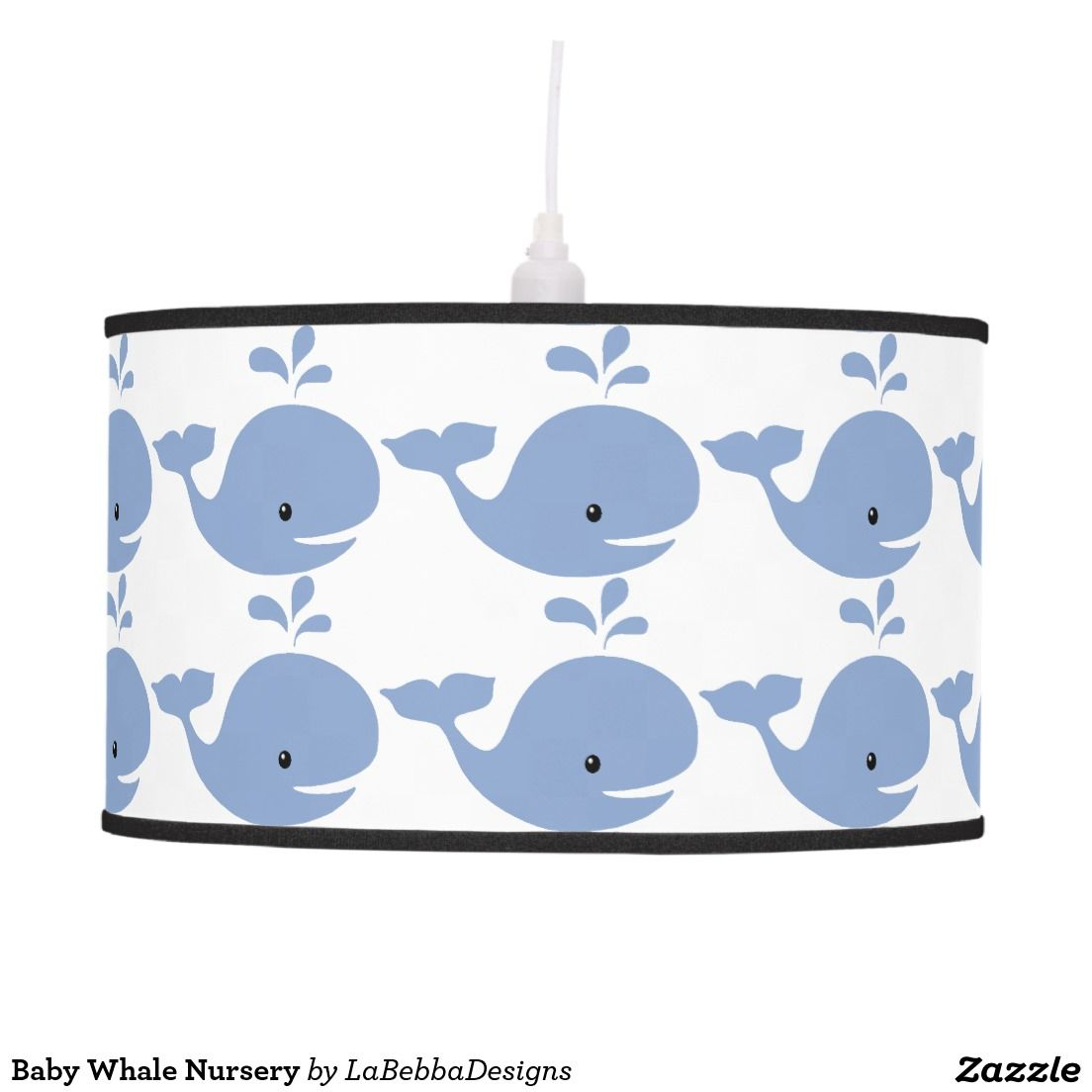 Baby Whale Nursery Ceiling Lamp Whale