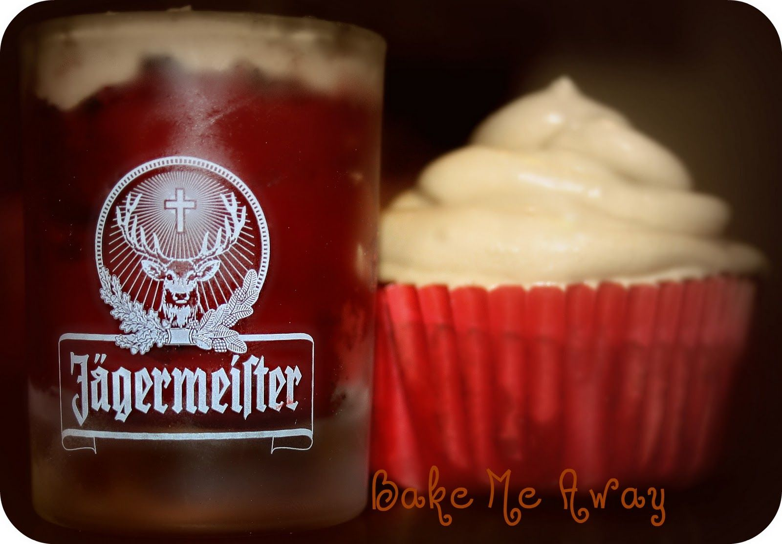 Jager Bomb cupcakes!