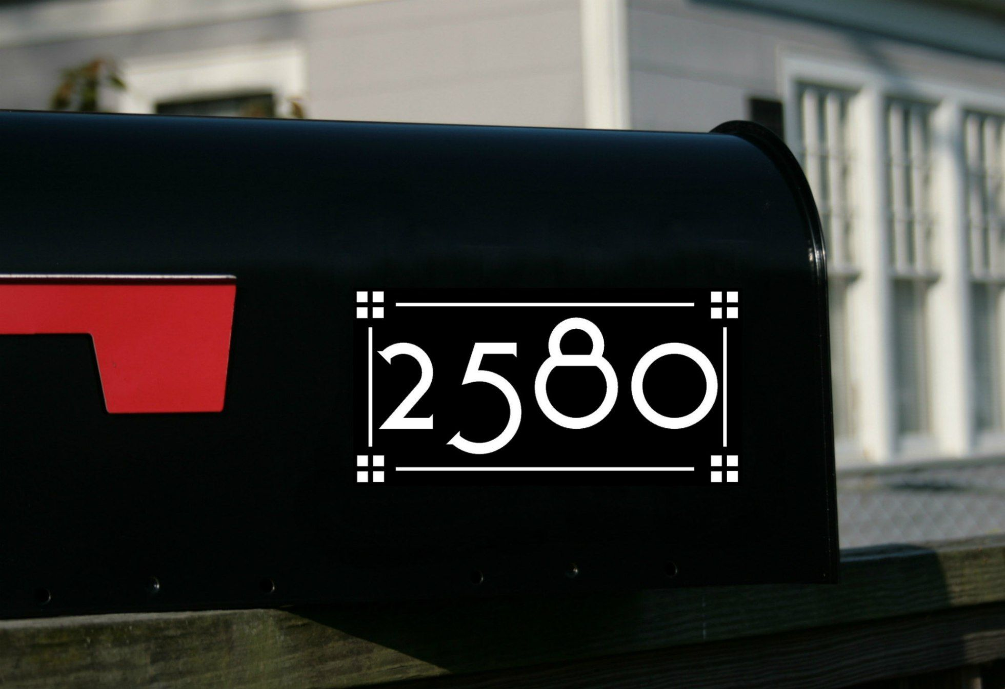 Toyland Mailbox Numbers Custom Mailboxes Craftsman Mailboxes Mailbox Numbers