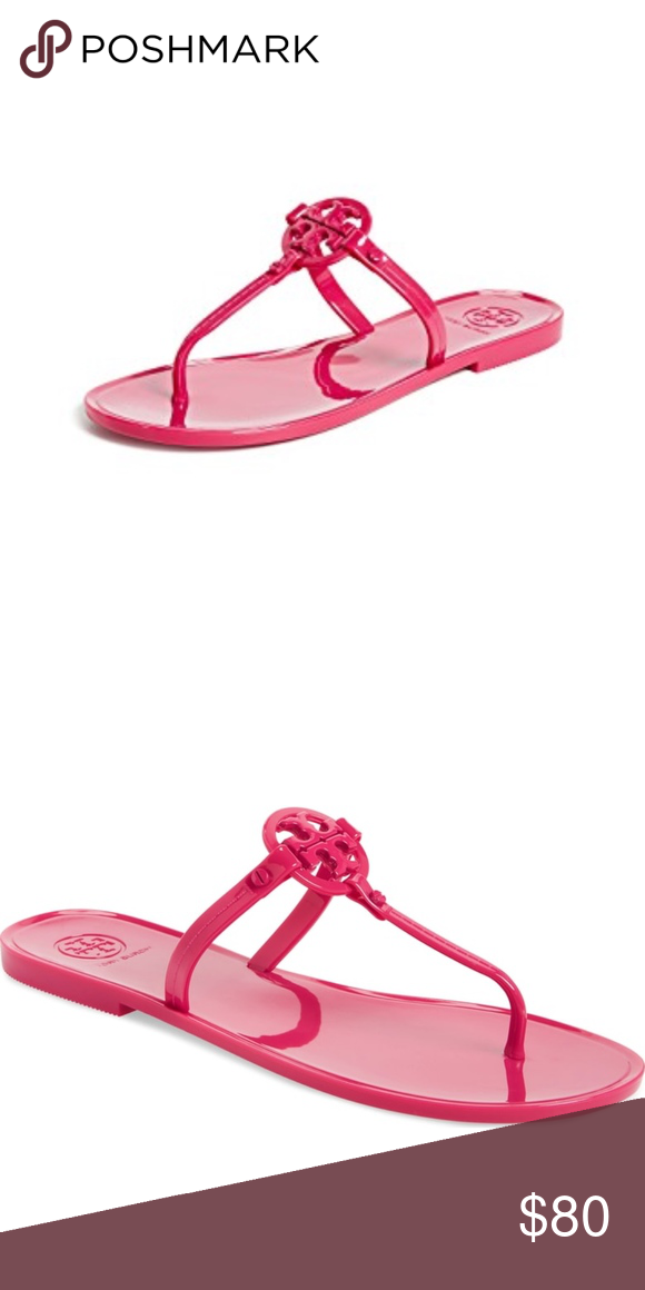 516a7e4659053 TORY BURCH Mini Miller Flat Thong - NWT! NEW WITH TAGS! Size  6 Open ...