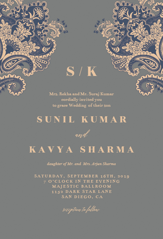 Indian Lovers Wedding Invitation Template Free Greetings Island Indian Wedding Invitation Cards Hindu Wedding Invitation Cards Wedding Invitation Card Template