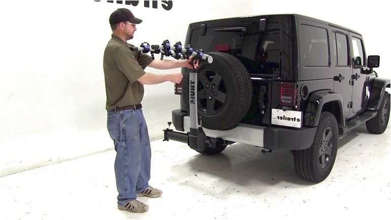 Jeep Bicycle Carrier Hitch Bike Rack Jeep Wrangler Rubicon Jeep Wrangler