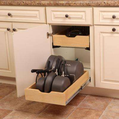 7 5 In X 15 3 In X 12 In Pot And Pan Cabinet Organizer