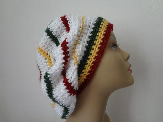 Rasta Hat Crocheted Bob Marley Rasta Rasta Crochet